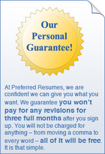 Our Personal Guarantee!
